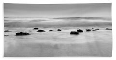 The Sound Of Silence Beach Sheet