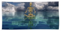The Spirit Of Happiness Beach Towel