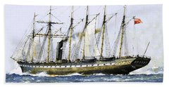 The Ss Great Britain Beach Towel