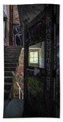 The Stairs Beyond The Door Beach Sheet