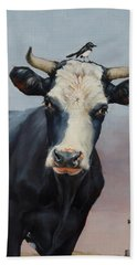The Stare Beach Towel by Margaret Stockdale