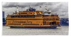 The Staten Island Ferry Beach Sheet