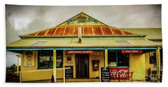 Beach Sheet featuring the photograph The Store by Perry Webster