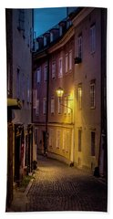 Beach Towel featuring the photograph The Streets Of Salzburg by David Morefield