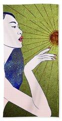 The Sun Is A Star Beach Towel