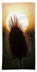 Beach Towel featuring the photograph The Sun Sets Upon Summer by Dale Kincaid