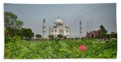 The Taj Mahal Beach Towel