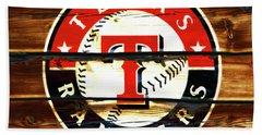 The Texas Rangers 3w Beach Towel