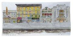 Theatre's Of Harlem's 125th Street Beach Towel