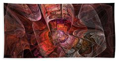 The Third Voice - Fractal Art Beach Towel