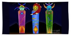 The Three Spirits Beach Sheet