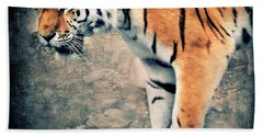 The Tiger Beach Towel