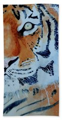 The Tiger Beach Towel by Steven Ponsford