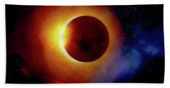 The Total Eclipse Beach Towel