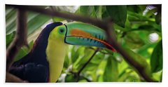 The Toucan Beach Towel
