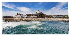 The Towers Of Narragansett  Beach Towel