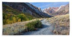 The Trail To Mcgee Creek Beach Sheet