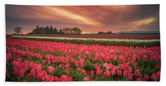 Beach Towel featuring the photograph The Tranquil Morning Before Sunrise by William Lee