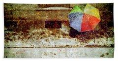 The Umbrella Beach Towel by Silvia Ganora