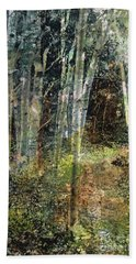 The Underbrush Beach Towel by Frances Marino