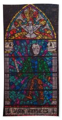 The Unholy Trinity Jason Voorhees Beach Towel