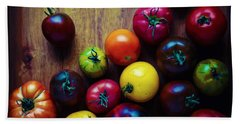 The United Colors Of Tomatoes Beach Towel