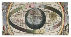 The Universe Of Ptolemy Harmonia Beach Towel