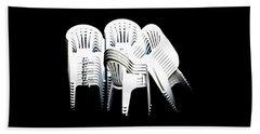 The Unused Chairs Beach Sheet
