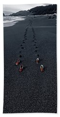 Beach Towel featuring the photograph The Vanishing by The Walkers