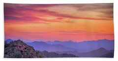 Beach Towel featuring the photograph The View From Above by Anthony Citro