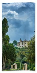 The Views From The Boboli Gardens Beach Towel
