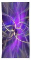 The Violet Flame. Spirituality Beach Sheet