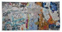 The Wall #10 Beach Sheet