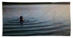 The Water Is Fine Beach Sheet