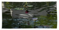 The Water Lily 2 Beach Towel by Cendrine Marrouat