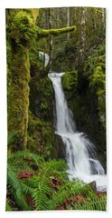 The Water Staircase Beach Towel