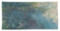 The Waterlilies  The Clouds Beach Towel