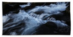 The Waters Of Kirkjufell Beach Towel