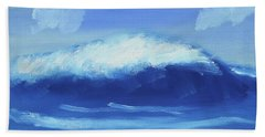 The Wave Beach Sheet by Artists With Autism Inc
