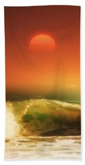 The Wave Beach Towel by Gabriella Weninger - David