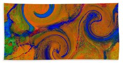 The Wave Of Truth 2 Gold Beach Towel