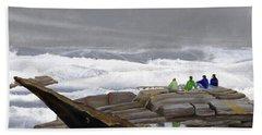 The Wave Watchers Beach Towel