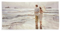 Beach Towel featuring the painting The Way That It Should Be by Steve Henderson
