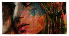 Beach Towel featuring the painting The Way We Were  by Paul Lovering