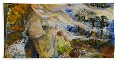 The Wayward Wind Beach Sheet by Sherry Shipley