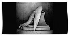The Weeping Angel Beach Towel