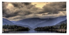 The West Arm Of Kootenai Lake Beach Towel