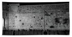 The Western Wall, Jerusalem Beach Sheet