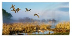 The Wetlands Crop Beach Towel