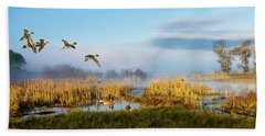 The Wetlands Beach Towel